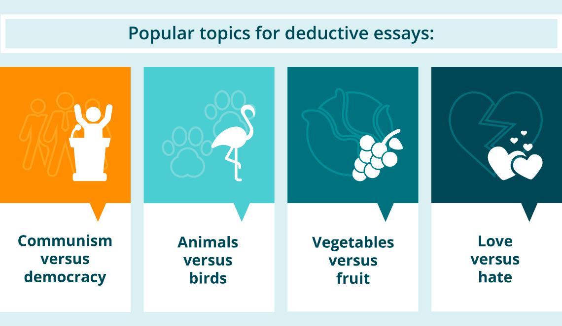 Popular Topics for Deductive Essays