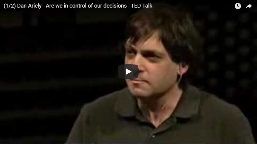 Dan Ariely - Are we in control of our decisions - TED Talk