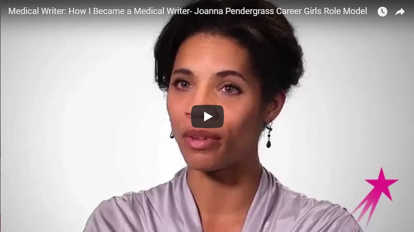Medical Writer: How I Became a Medical Writer- Joanna Pendergrass
