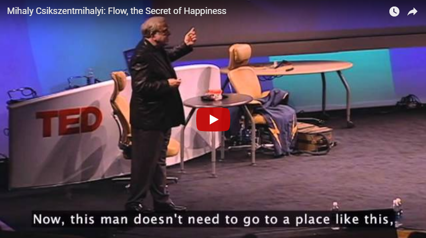Mihaly Csikszentmihalyi: Flow, the Secret of Happiness