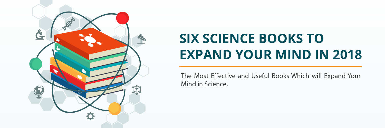 Six science books