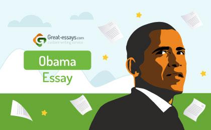 Obama Essay Writing